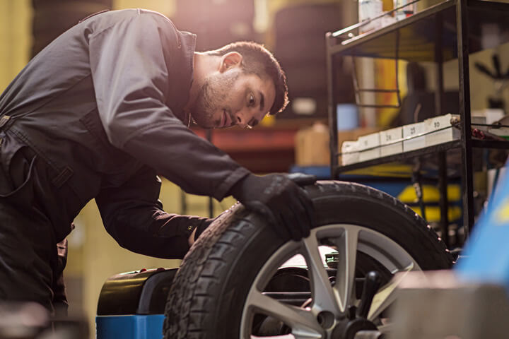 Tire Balancing in Fairview Heights IL