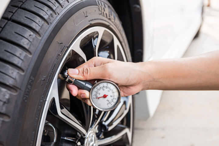 Tire Pressure Check in Fairview Heights IL