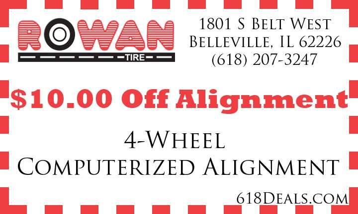 $10 Off Alignment in Belleville IL