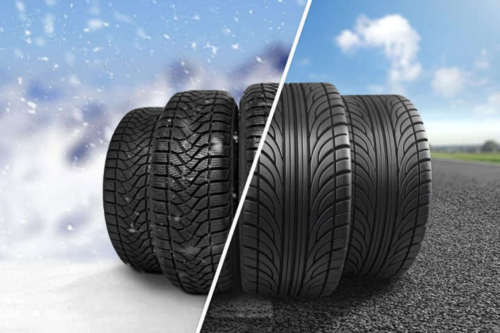 New Tires for Correct Season in Belleville IL